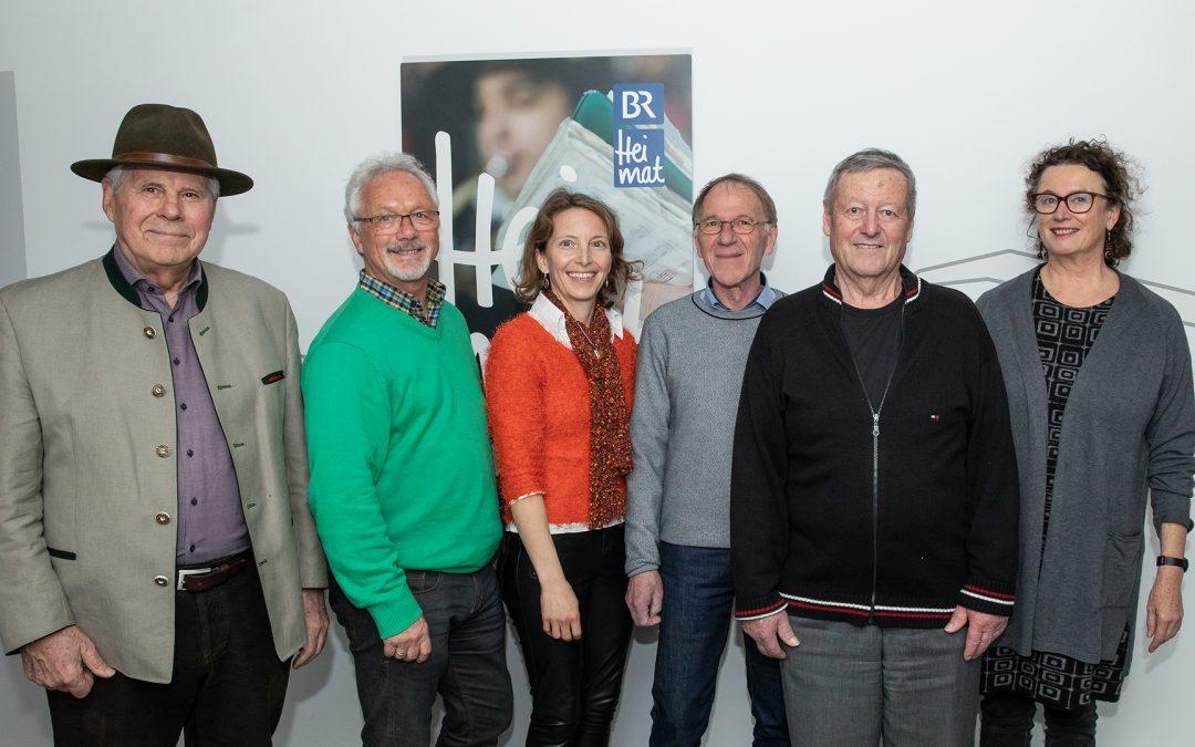 Chiemgau-Autoren live auf Sendung im BR Heimat