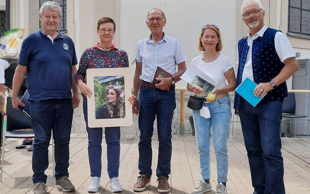 """Mundart-Lesung am """"Tag der Vereine"""",25. Juli 2021,Stadtplatz Traunstein"""
